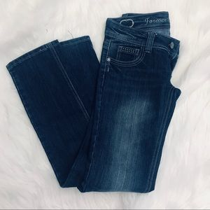 Forever 21 jeans Size 3/4 Dark Wash